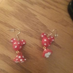 Jewelry - Minnie mouse earrings